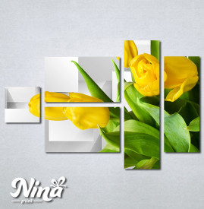 Slike na platnu Zute lale Nina322_5