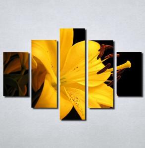 Slike na platnu Zuti cvet Nina103_5
