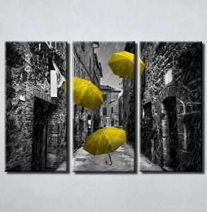 Slike na platnu Žuti kisobran Nina210_3