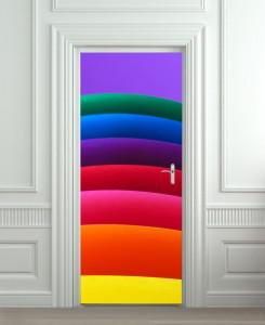 Nalepnica za vrata Boje 6166