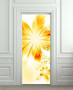 Nalepnica za vrata Cvet 6176