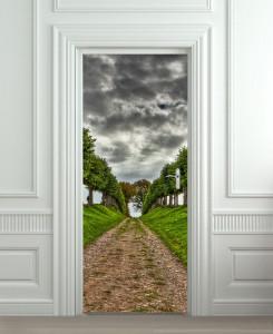 Nalepnica za vrata Drvored 6114
