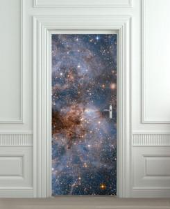 Nalepnica za vrata Galaksija 6144