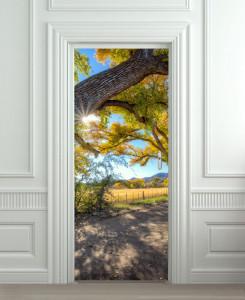 Nalepnica za vrata Priroda 6134