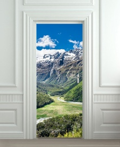 Nalepnica za vrata Put kroz planinu 6155