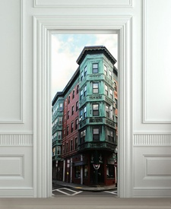 Nalepnica za vrata Zgrada 6131