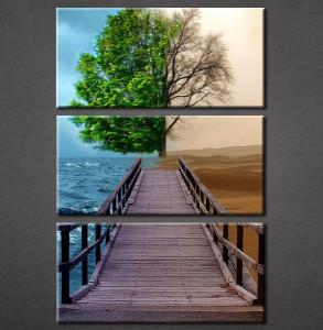 Slika na platnu Most i drvo Nina3067_3
