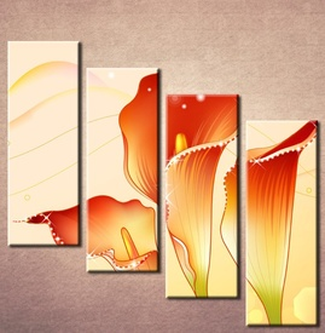 Slika na platnu Narandžasta kala Nina3074_4
