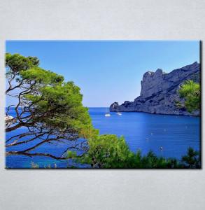 Slika na platnu Pogled na more Nina3076_P