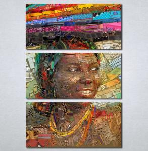 Slike na platnu Afrikanka Nina232_3