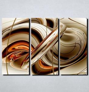 Slike na platnu Apstrakcija oblici Nina116_3