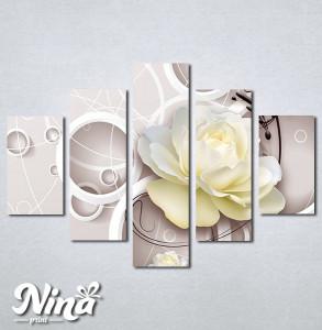 Slike na platnu Bež ruža Nina274_5