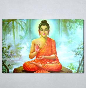 Slike na platnu Buda Nina074_P