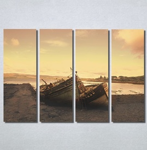 Slike na platnu Čamac na obali Nina30192_4