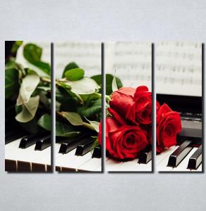 Slike na platnu Crvene Ruze Nina171_4