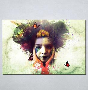 Slike na platnu Čudna devojka Nina060_P