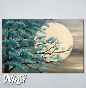 Slike na platnu Drvo i mesec 235_P