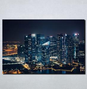 Slike na platnu Gradovi nocu Nina158_P