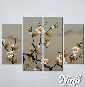 Slike na platnu Grana drveta Nina341_4