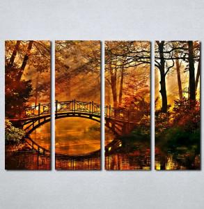 Slike na platnu Jesen i suma Nina036_4
