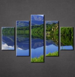 Slike na platnu Jezero Nina3085_5