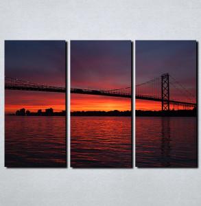 Slike na platnu Most noću Nina117_3