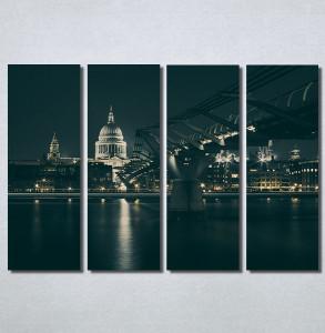 Slike na platnu Most noću Nina30208_4