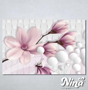 Slike na platnu Nezno roze magnolija Nina318_P