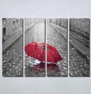 Slike na platnu Pariz i crveni kisobran Nina30145_4