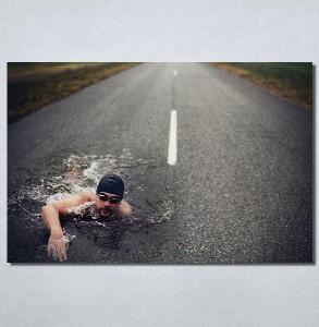 Slike na platnu Plivač Nina30139_P