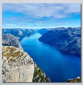 Slike na platnu Poged sa planine Nina30265