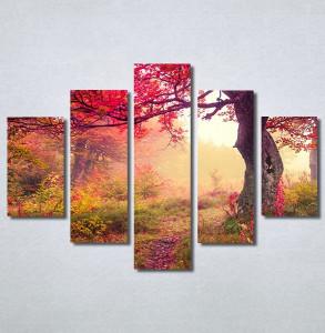 Slike na platnu Prelepa jesen u šumi Nina30244_5