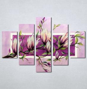Slike na platnu Roze magnolija Nina226_5