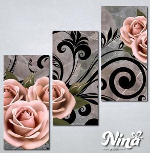 Slike na platnu Ruža Nina286_3