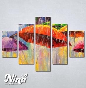 Slike na platnu Šareni kišobrani Nina272_5