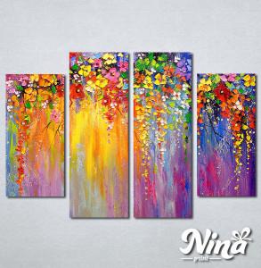Slike na platnu Šarenilo boja Nina277_4