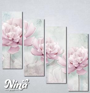 Slike na platnu Svetlo lila cvet Nina261_4