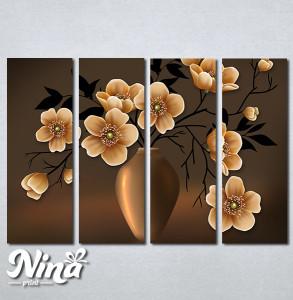 Slike na platnu Vaza i cveće Nina291_4