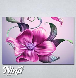 Slike na platnu Veliki roze cvet Nina270_P