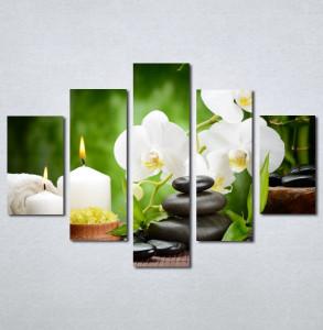 Slike na platnu Wellness spa bela orhideja Nina 181_5