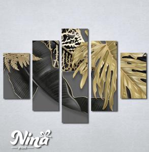 Slike na platnu Zlatna paprat Nina313_5