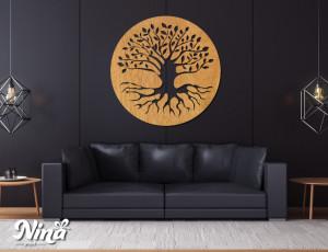 Dekor Nina Drvo krug nd017h