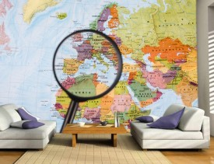 Foto tapeta Karta sveta tapet174