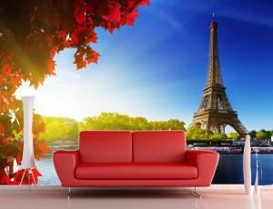 Foto tapeta Pariz Tapet043