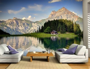 Foto tapeta Planine u Švajcarskoj Tapet085
