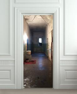 Nalepnica za vrata Hodnik 6072