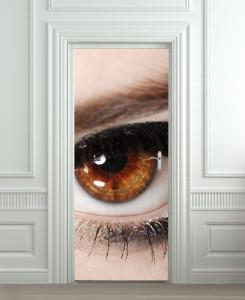 Nalepnica za vrata Oko 6020