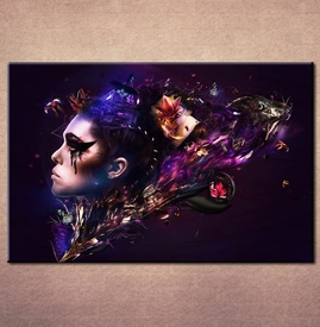 Slika na platnu Devojka art 3015_P