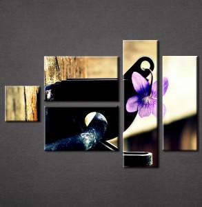 Slika na platnu Ljubicasti cvet Nina3053_5