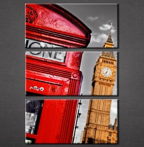 Slika na platnu London govornica Nina3007_3